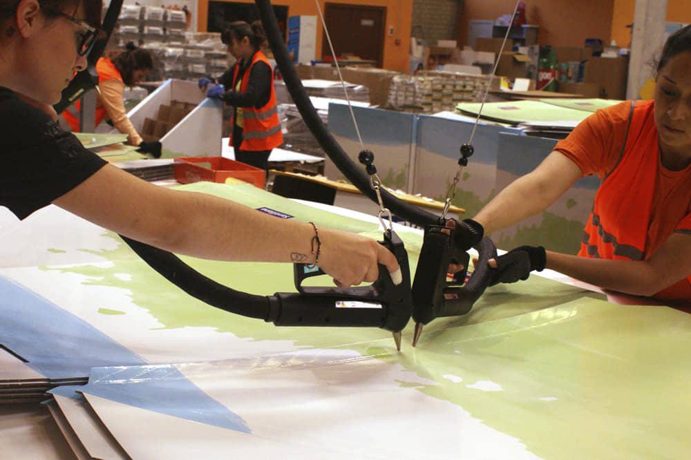 Producción y Logística PLV en Madrid