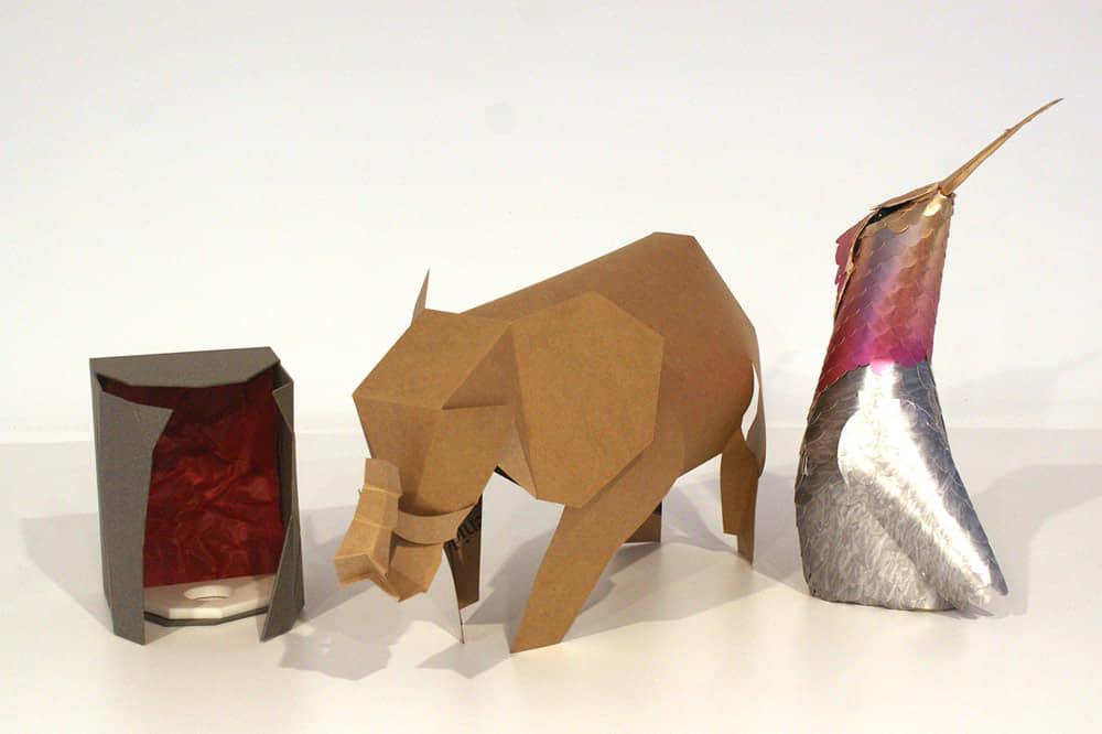 Fabricación de Origami